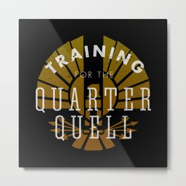 Training: Quarter Quell Metal Print