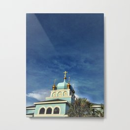 Russian place of Worship Metal Print