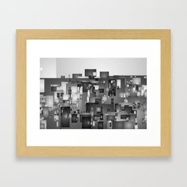 AbstractCity Framed Art Print