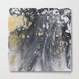 Golden Rain Metal Print
