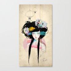 Nenufar Girl Canvas Print