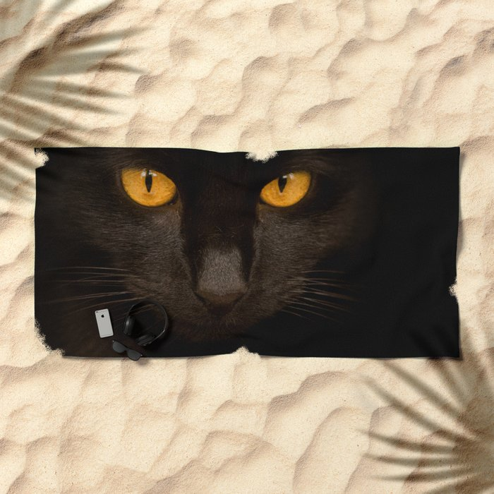 OUT OF THE DARK Beach Towel