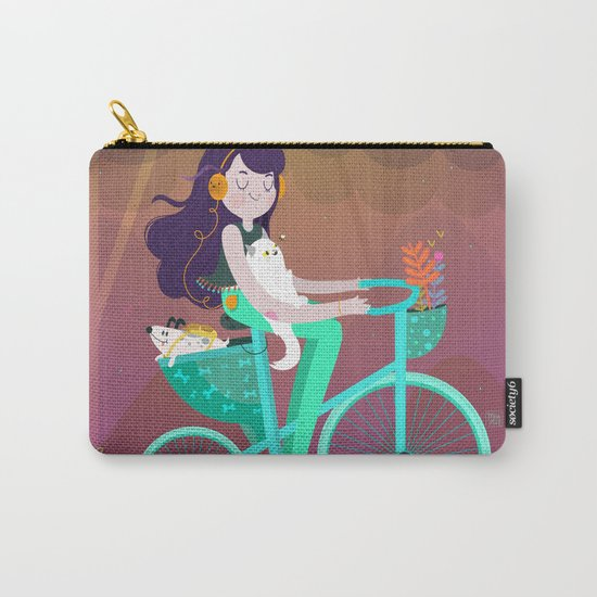 Vacations Carry-All Pouch