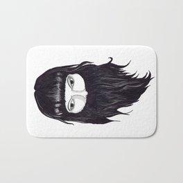 femme à barbe Bath Mat
