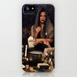 Being a Witch Is a Loverly Thing iPhone Case