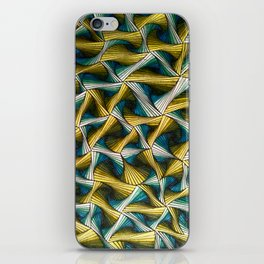 Green and Blue iPhone Skin
