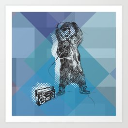 O&P: MC Grizzly Pt.2 - So Grizzly Right Now! Art Print