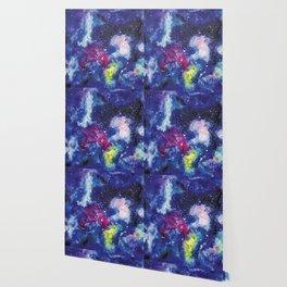 Galaxy Watercolor Wallpaper