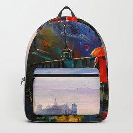 Rain in London Backpack