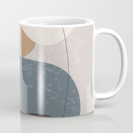 Abstract Stones in Terracotta No. 3 Coffee Mug