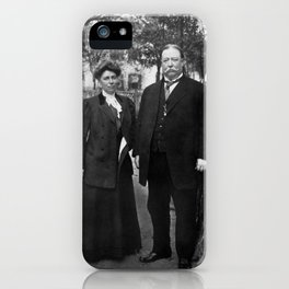 President Taft and First Lady Helen Taft - 1909 iPhone Case