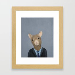 Year of the Rat Framed Art Print