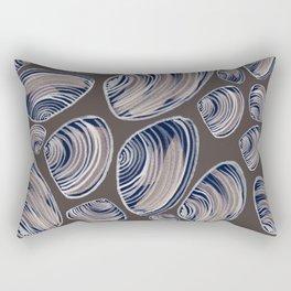 Night Oysters Rectangular Pillow