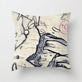 Barcelona Museum | by Raúl Sualdea Throw Pillow