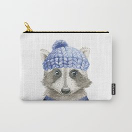 Raccoon face Carry-All Pouch
