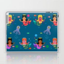 Mermaid Sisters Laptop & iPad Skin