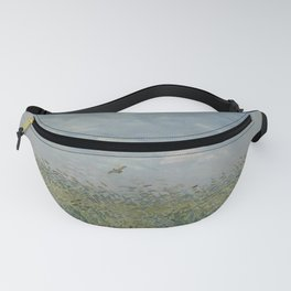 Wheatfield with Partridge Fanny Pack