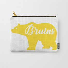 Yellow Bruins Bear Carry-All Pouch