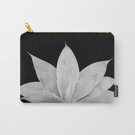 Gray Agave on Black #2 #tropical #decor #art #society6 Carry-All Pouch