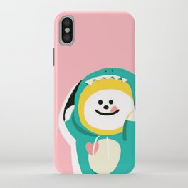 Dinosaur Chimmy (Pink Ver.) iPhone Case