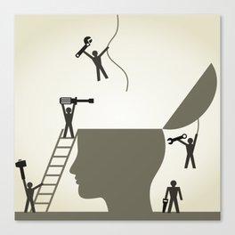 Head repair Canvas Print