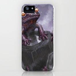 Fire Salamander iPhone Case