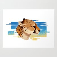 Speed King Art Print
