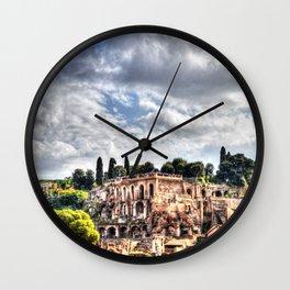 Ancient Rome Wall Clock