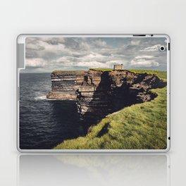 Irish Sea Cliffs Laptop & iPad Skin