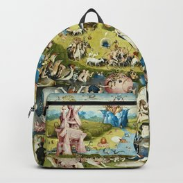 Heironymus Bosch - The Garden Of Earthly Delights Backpack