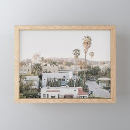 Hollywood California Framed Mini Art Print