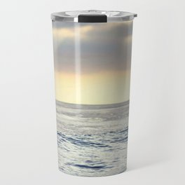 California Sunset over the Pacific Ocean Travel Mug