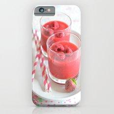Raspberry Smoothie Kitchen Art iPhone 6s Slim Case