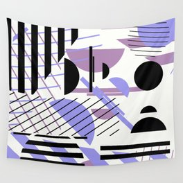 Shape Central - Geometric Abstract Pattern Wall Tapestry