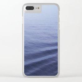 Still Sea Water Minimalist Poster Clear iPhone Case