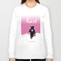 mario kart Long Sleeve T-shirts featuring Kart by Samiel