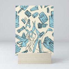 Pattern design Mini Art Print