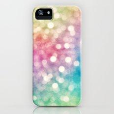 Rainbow Sparkles Slim Case iPhone (5, 5s)