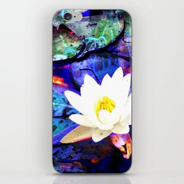 Electrifying Lotus iPhone Skin