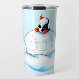 Home Sweet Igloo (South Pole) Travel Mug