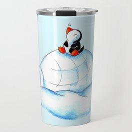 Home Sweet Igloo (South Pole) Travel Mug