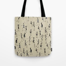 stick people in action Tote Bag