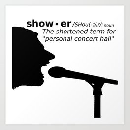 Personal Concert Hall Art Print