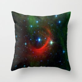 Kappa Cassiopeiae star in the constellation Cassiopeia (NASA/JPL-Caltech) Throw Pillow