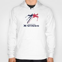 nfl Hoodies featuring Houston X-wings - NFL by Steven Klock