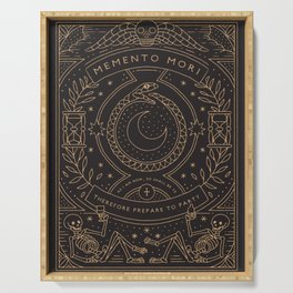 Memento Mori - Prepare to Party Serving Tray
