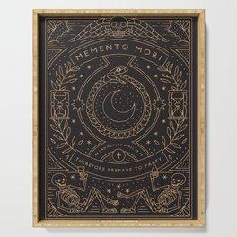 Memento Mori - Prepare to Party Serving Tray