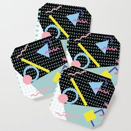 Memphis Pattern 6 - 80s - 90s - Retro Coaster
