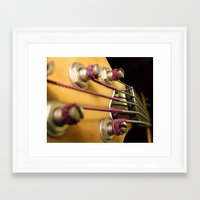 bass Framed Art Prints featuring Bass by Andrea Anderegg Photography