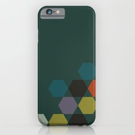 cluster || green night iPhone Case
